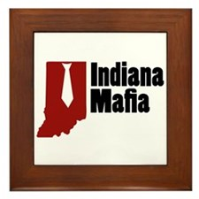 Indiana Mafia Framed Tile