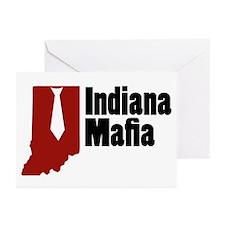 Indiana Mafia Greeting Cards (Pk of 10)