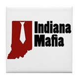 Indiana Mafia Tile Coaster