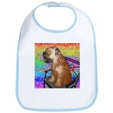 Wheaten Terrier Puppy Bib