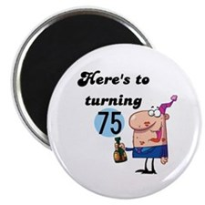 75th Birthday Magnet