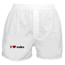 I love cake Boxer Shorts