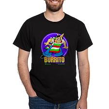 Burrito#2 Black T-Shirt
