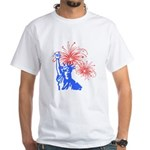 ILY Fireworks Liberty White T-Shirt