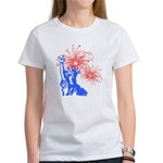 ILY Fireworks Liberty Women's T-Shirt