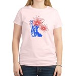 ILY Fireworks Liberty Women's Light T-Shirt
