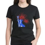 ILY Fireworks Liberty Women's Dark T-Shirt