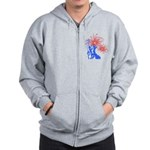 ILY Fireworks Liberty Zip Hoodie