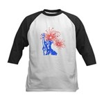 ILY Fireworks Liberty Kids Baseball Jersey