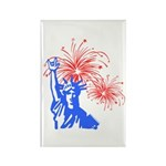 ILY Fireworks Liberty Rectangle Magnet (100 pack)