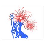 ILY Fireworks Liberty Small Poster
