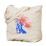 ILY Fireworks Liberty Tote Bag