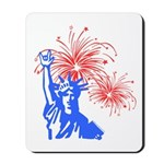 ILY Fireworks Liberty Mousepad