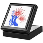 ILY Fireworks Liberty Keepsake Box