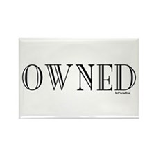 OWNED Rectangle Magnet (10 pack)