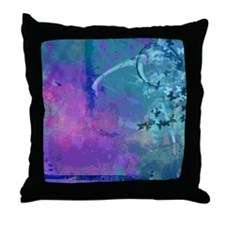 Goodbey Mr. Winter Throw Pillow