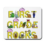 First Grade Rocks Mousepad