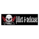 Fillet &amp; Release Bumper Bumper Sticker