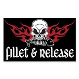 Fillet &amp; Release Rectangle Decal