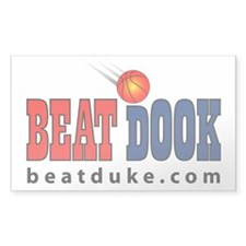 "BEAT DOOK 3"" x 5"" Decal"