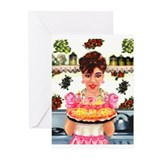 Vintage Happy Birthday Greeting Cards (Pk of 10)
