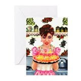 Vintage Happy Birthday Greeting Cards (Pk of 20)