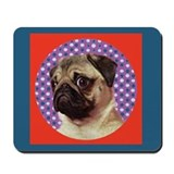 Pug Pop Mousepad