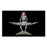 Keyboard Skeleton Decal