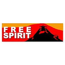Free Spirit Bumper Bumper Sticker