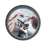 Creation-G-Shep (15) Wall Clock
