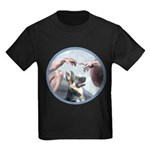 Creation-G-Shep (15) Kids Dark T-Shirt