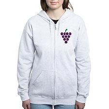 Grapes Zip Hoodie