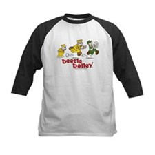 Otto, Sarge, and Beetle Chase Kids Baseball Jersey
