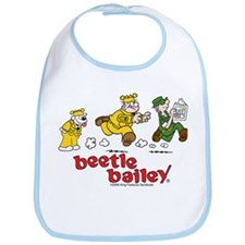 Otto, Sarge, and Beetle Chase Bib