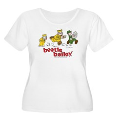 Otto, Sarge, and Beetle Chase Women's Plus Size Sc