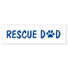 Rescue Dad Bumper Bumper Sticker