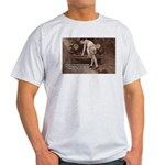 Women Sexy Poses Ash Grey T-Shirt
