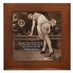 Women Sexy Poses Framed Tile