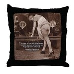 Women Sexy Poses Throw Pillow