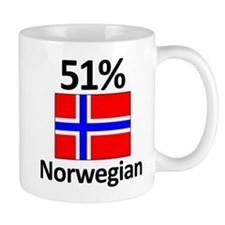 51% Norwegian Small Mugs