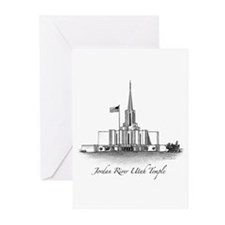 Jordan River Utah Temple Greeting Cards (Pk of 10)