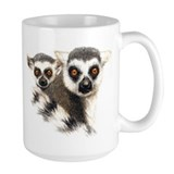 Lemurs Ceramic Mugs