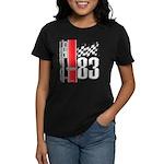Mustang 83 RWB Women's Dark T-Shirt