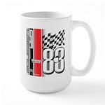 Mustang 83 RWB Large Mug