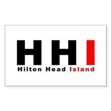 Hilton Head Island Rectangle Decal