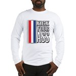 Kick Ass RWB Long Sleeve T-Shirt