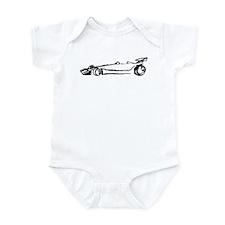 Formula Racing Car Infant Bodysuit