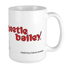 Beetle and Sarge in Jeep Large Mug