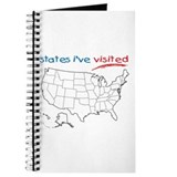 States I've Visited Journal