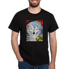 Wolf T-Shirt (black)